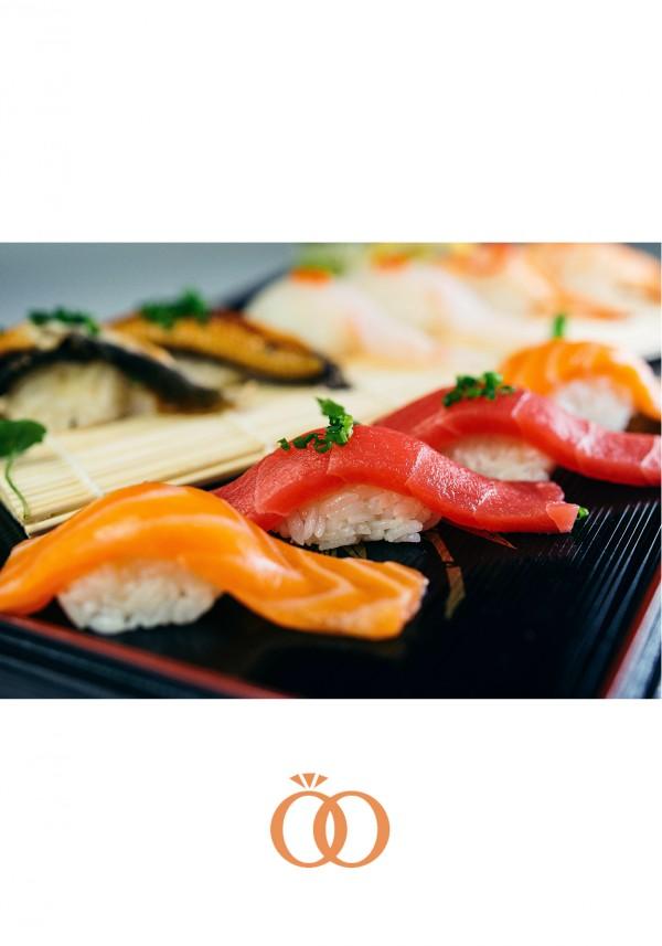 Sushi Platter : Salmon, Tuna