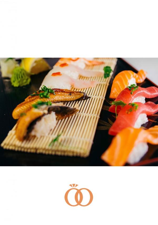 Sushi Platter : Eel, Flat fish